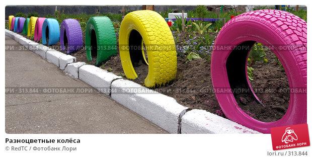Разноцветные колёса, фото № 313844, снято 6 июня 2008 г. (c) RedTC / Фотобанк Лори
