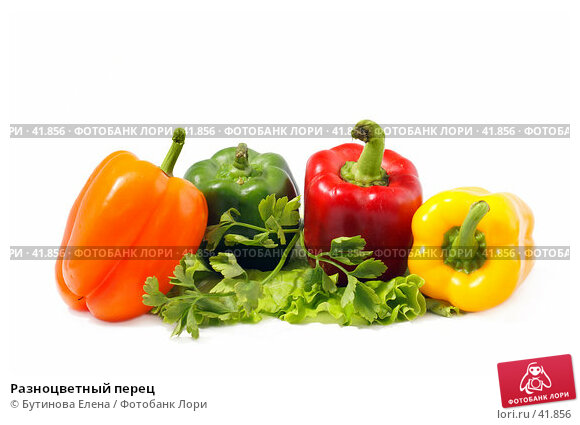 Купить «Разноцветный перец», фото № 41856, снято 7 апреля 2007 г. (c) Бутинова Елена / Фотобанк Лори