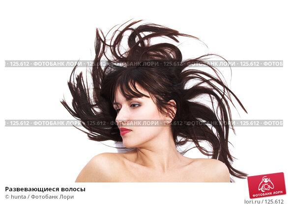 Развевающиеся волосы, фото № 125612, снято 25 октября 2007 г. (c) hunta / Фотобанк Лори