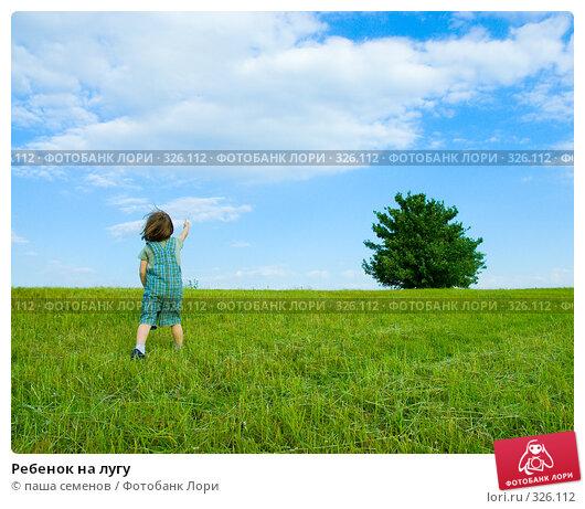 Купить «Ребенок на лугу», фото № 326112, снято 11 июня 2008 г. (c) паша семенов / Фотобанк Лори