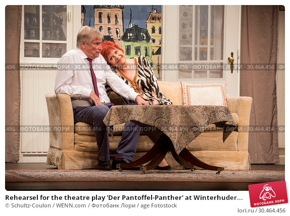 Rehearsel for the theatre play 'Der Pantoffel-Panther' at Winterhuder... (2017 год). Редакционное фото, фотограф Schultz-Coulon / WENN.com / age Fotostock / Фотобанк Лори
