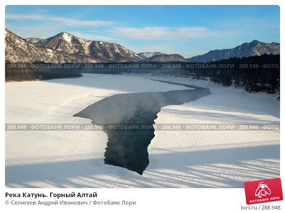 Купить «Река Катунь. Горный Алтай», фото № 288948, снято 24 февраля 2008 г. (c) Селигеев Андрей Иванович / Фотобанк Лори