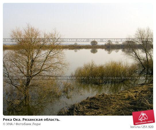Река Ока. Рязанская область., фото № 251920, снято 5 апреля 2008 г. (c) УНА / Фотобанк Лори