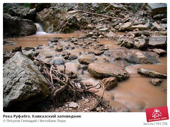 Река Руфабго. Кавказский заповедник, фото № 151776, снято 10 августа 2007 г. (c) Петухов Геннадий / Фотобанк Лори