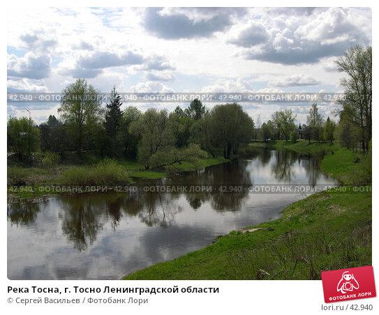 Река Тосна, г. Тосно Ленинградской области, фото № 42940, снято 12 мая 2007 г. (c) Сергей Васильев / Фотобанк Лори