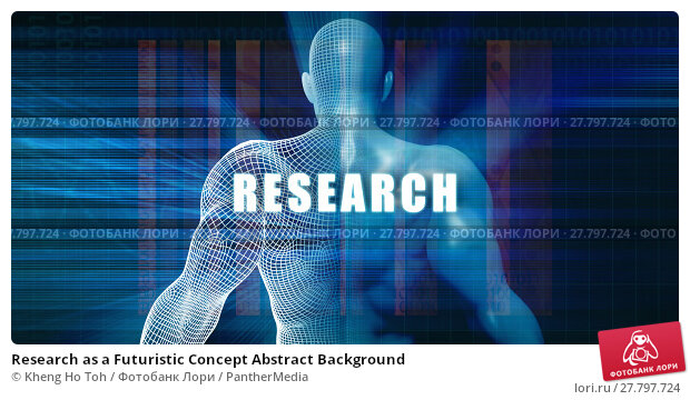 Купить «Research as a Futuristic Concept Abstract Background», фото № 27797724, снято 22 февраля 2018 г. (c) PantherMedia / Фотобанк Лори