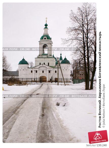 Ростов Великий. Авраамиев Богоявленский монастырь, фото № 230240, снято 25 февраля 2008 г. (c) Julia Nelson / Фотобанк Лори