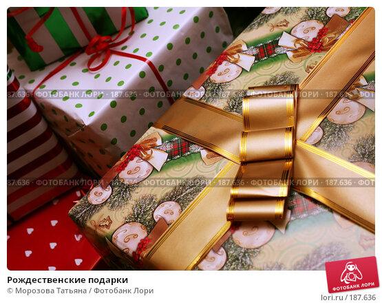 Купить «Рождественские подарки», фото № 187636, снято 29 декабря 2007 г. (c) Морозова Татьяна / Фотобанк Лори