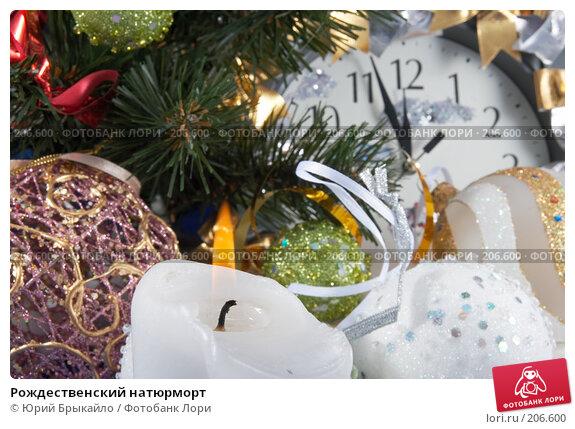Рождественский натюрморт, фото № 206600, снято 25 ноября 2007 г. (c) Юрий Брыкайло / Фотобанк Лори