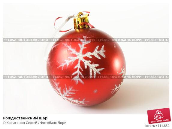 Рождественский шар, фото № 111852, снято 6 ноября 2007 г. (c) Харитонов Сергей / Фотобанк Лори