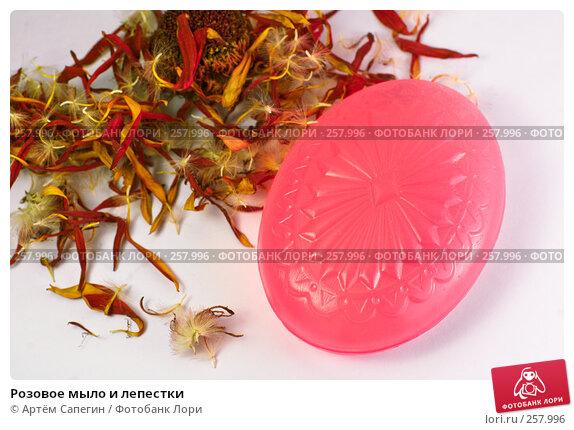 Розовое мыло и лепестки, фото № 257996, снято 9 декабря 2007 г. (c) Артём Сапегин / Фотобанк Лори
