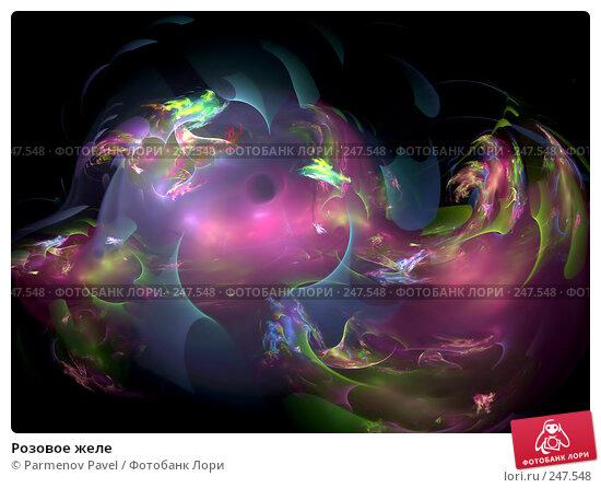 Розовое желе, иллюстрация № 247548 (c) Parmenov Pavel / Фотобанк Лори