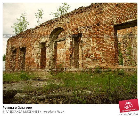 Руины в Ольгово, фото № 46784, снято 17 июня 2006 г. (c) АЛЕКСАНДР МИХЕИЧЕВ / Фотобанк Лори