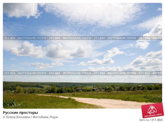 Купить «Русские просторы», фото № 311804, снято 2 июня 2008 г. (c) Елена Блохина / Фотобанк Лори