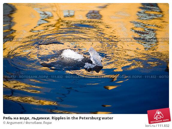 Рябь на воде, льдинки. Ripples in the Petersburg water, фото № 111832, снято 26 марта 2007 г. (c) Argument / Фотобанк Лори