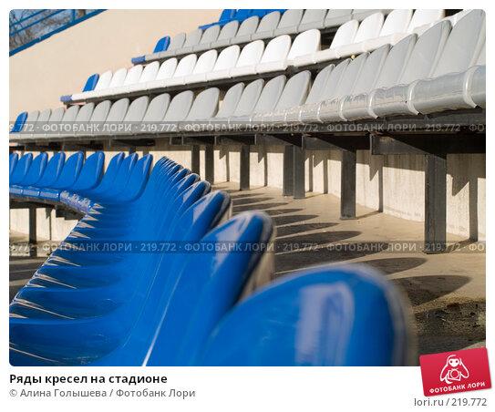 Купить «Ряды кресел на стадионе», эксклюзивное фото № 219772, снято 26 февраля 2008 г. (c) Алина Голышева / Фотобанк Лори