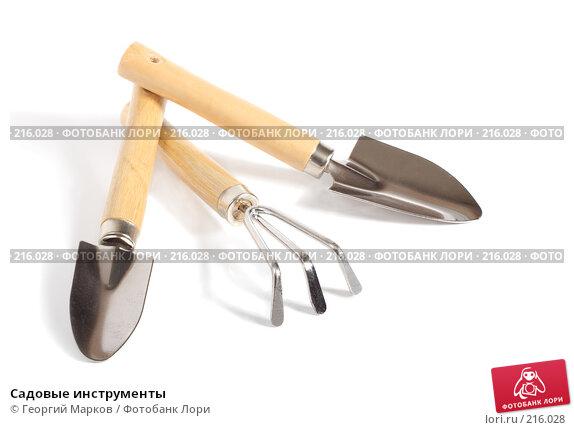 Купить «Садовые инструменты», фото № 216028, снято 29 февраля 2008 г. (c) Георгий Марков / Фотобанк Лори