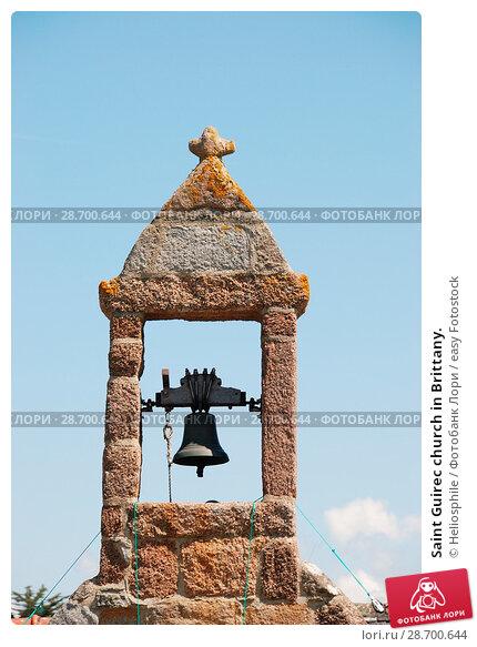 Купить «Saint Guirec church in Brittany.», фото № 28700644, снято 12 мая 2010 г. (c) easy Fotostock / Фотобанк Лори