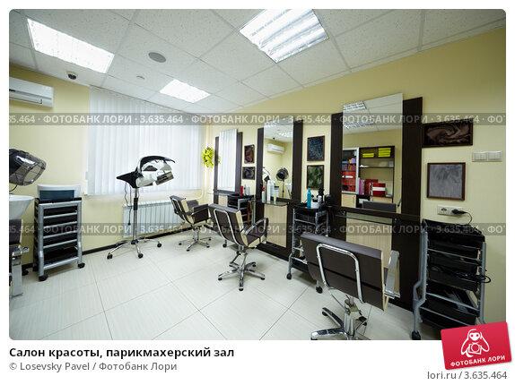Купить «Салон красоты, парикмахерский зал», фото № 3635464, снято 18 мая 2011 г. (c) Losevsky Pavel / Фотобанк Лори