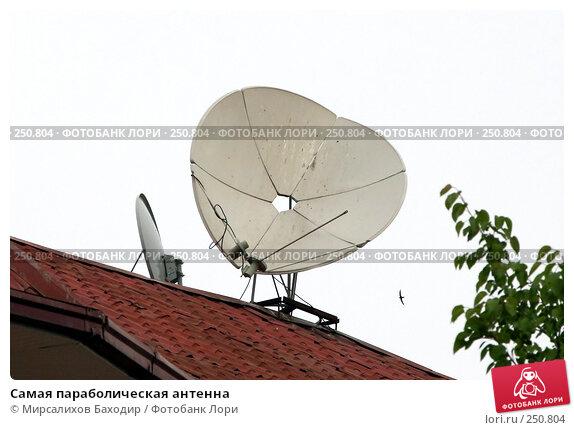 Самая параболическая антенна, фото № 250804, снято 28 февраля 2017 г. (c) Мирсалихов Баходир / Фотобанк Лори
