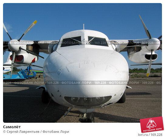 Самолёт, фото № 169228, снято 5 июля 2003 г. (c) Сергей Лаврентьев / Фотобанк Лори
