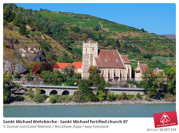 Sankt Michael Wehrkirche - Sankt Michael fortified church 07. Стоковое фото, фотограф Zoonar.com/Liane Matrisch / easy Fotostock / Фотобанк Лори