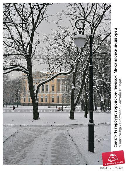 Санкт-Петербург, городской пейзаж, Михайловский дворец, фото № 196324, снято 4 февраля 2008 г. (c) Александр Секретарев / Фотобанк Лори
