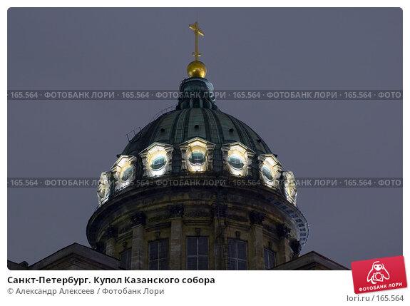 Санкт-Петербург. Купол Казанского собора, эксклюзивное фото № 165564, снято 21 ноября 2006 г. (c) Александр Алексеев / Фотобанк Лори