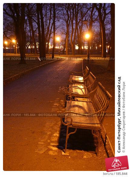 Санкт-Петербург, Михайловский сад, фото № 185844, снято 16 января 2008 г. (c) Александр Секретарев / Фотобанк Лори