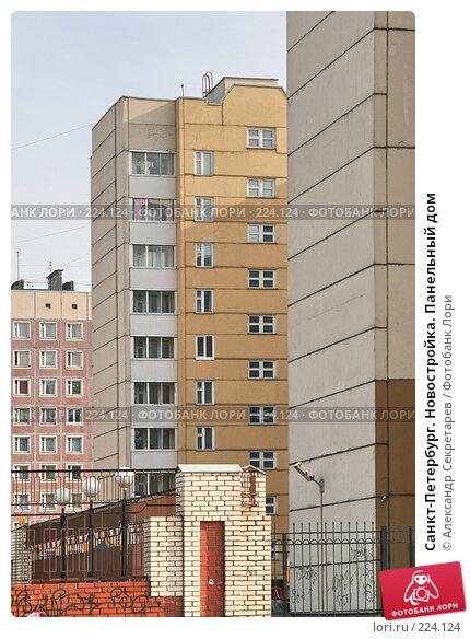 Санкт-Петербург. Новостройка. Панельный дом, фото № 224124, снято 10 марта 2008 г. (c) Александр Секретарев / Фотобанк Лори