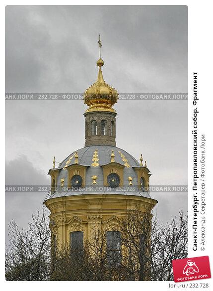 Санкт-Петербург. Петропавловский собор. Фрагмент, фото № 232728, снято 10 мая 2005 г. (c) Александр Секретарев / Фотобанк Лори