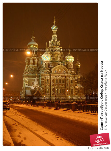 Санкт-Петербург. Собор Спаса на Крови, фото № 207920, снято 17 декабря 2005 г. (c) Александр Секретарев / Фотобанк Лори