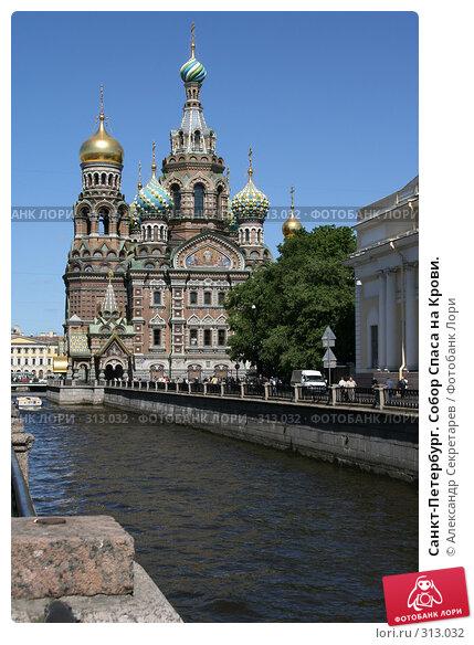 Санкт-Петербург. Собор Спаса на Крови., фото № 313032, снято 4 июня 2008 г. (c) Александр Секретарев / Фотобанк Лори