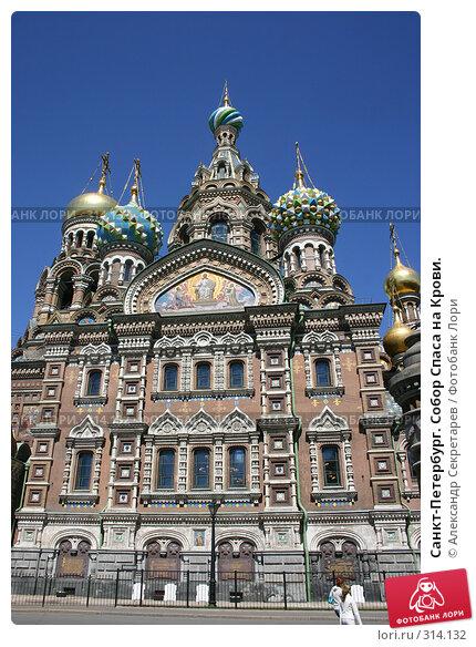 Купить «Санкт-Петербург. Собор Спаса на Крови.», фото № 314132, снято 7 июня 2008 г. (c) Александр Секретарев / Фотобанк Лори