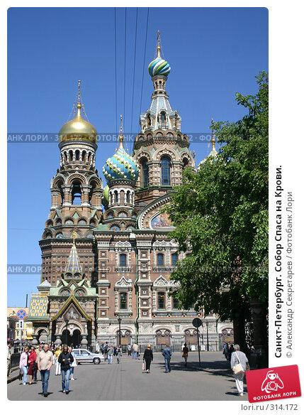 Санкт-Петербург. Собор Спаса на Крови., фото № 314172, снято 7 июня 2008 г. (c) Александр Секретарев / Фотобанк Лори