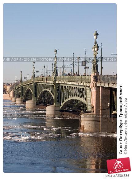 Санкт-Петербург. Троицкий мост., фото № 230536, снято 25 марта 2007 г. (c) Инга Лексина / Фотобанк Лори