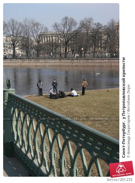Санкт-Петербург.  у Петропавловской крепости, фото № 251272, снято 5 апреля 2008 г. (c) Александр Секретарев / Фотобанк Лори