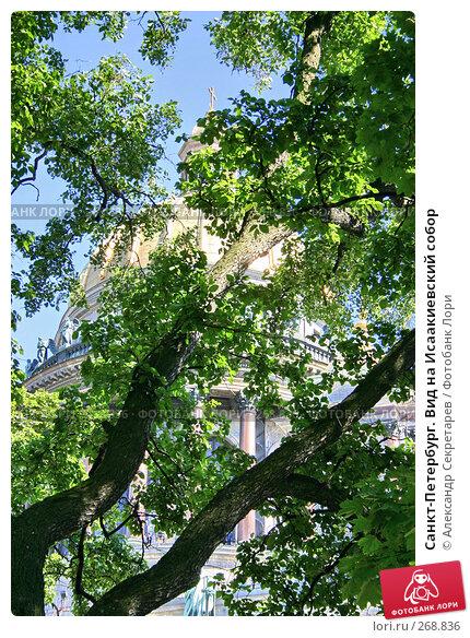 Санкт-Петербург. Вид на Исаакиевский собор, фото № 268836, снято 28 июня 2005 г. (c) Александр Секретарев / Фотобанк Лори