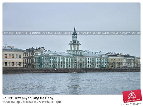 Санкт-Петербург, Вид на Неву, фото № 179452, снято 16 января 2008 г. (c) Александр Секретарев / Фотобанк Лори