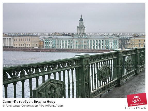 Санкт-Петербург, Вид на Неву, фото № 179456, снято 16 января 2008 г. (c) Александр Секретарев / Фотобанк Лори