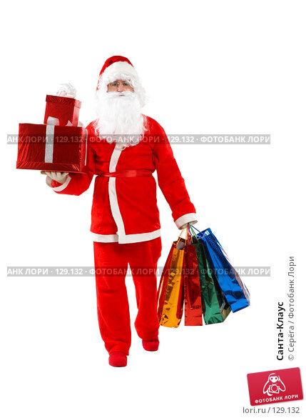 Санта-Клаус, фото № 129132, снято 9 ноября 2007 г. (c) Серёга / Фотобанк Лори