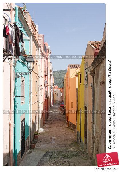 Сардиния, город Боса, старый город (Sa Costa), фото № 254156, снято 7 апреля 2008 г. (c) Tamara Kulikova / Фотобанк Лори