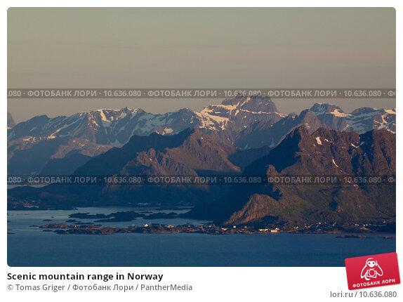 Купить «Scenic mountain range in Norway», фото № 10636080, снято 24 марта 2019 г. (c) PantherMedia / Фотобанк Лори
