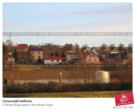 Сельский пейзаж, фото № 251236, снято 19 марта 2008 г. (c) Юлия Селезнева / Фотобанк Лори