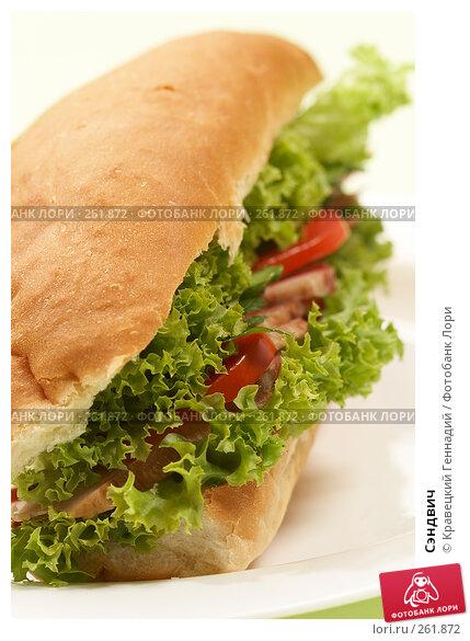 Сэндвич, фото № 261872, снято 25 сентября 2005 г. (c) Кравецкий Геннадий / Фотобанк Лори