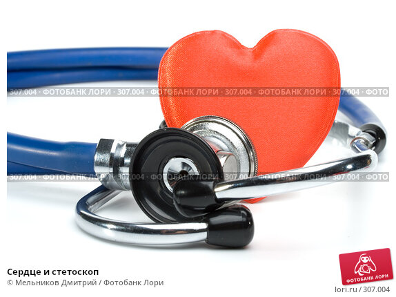 Купить «Сердце и стетоскоп», фото № 307004, снято 20 мая 2008 г. (c) Мельников Дмитрий / Фотобанк Лори