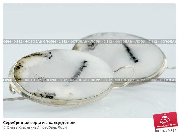 Серебряные серьги с халцедоном, фото № 9812, снято 6 августа 2006 г. (c) Ольга Красавина / Фотобанк Лори