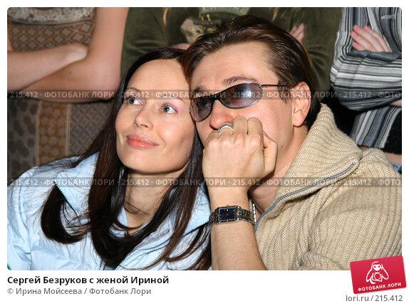 Сергей Безруков с женой Ириной, эксклюзивное фото № 215412, снято 4 декабря 2005 г. (c) Ирина Мойсеева / Фотобанк Лори