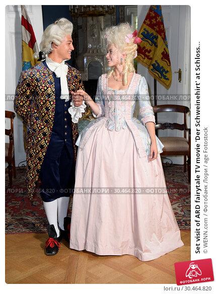 Set visit of ARD fairytale TV movie 'Der Schweinehirt' at Schloss... (2017 год). Редакционное фото, фотограф WENN.com / age Fotostock / Фотобанк Лори
