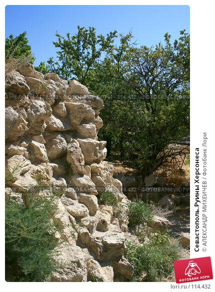 Севастополь.Руины Херсонеса, фото № 114432, снято 21 августа 2007 г. (c) АЛЕКСАНДР МИХЕИЧЕВ / Фотобанк Лори